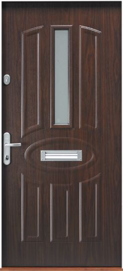 Gerda Contemporary Range External Doorset Secured By