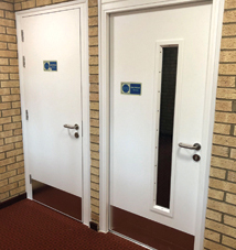 Service Room Doorsets